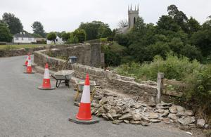 Repairs to Ballycarney Bridge nearing completion