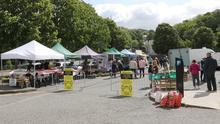 Enniscorthy Farmers Market which re-opened recently