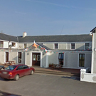 The Achill Head Hotel, where protests took place last week