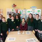 The students at St Senan's with teacher Adeline Foxe