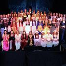 The cast of Into The Woods at FCJ Bunclody.