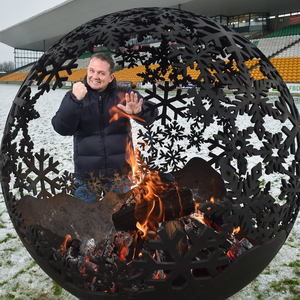 Wexford manager Davy Fitzgerald at the launch of the Bord na Móna Leinster GAA series at Bord na Móna O'Connor Park, Tullamore recently.
