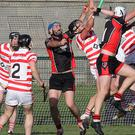 Garrett Sinnott (centre) will carry a big scoring threat for Oulart-The Ballagh in Sunday's Pettitt's SHC quarter-final