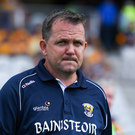 Davy Fitzgerald in Páirc Uí Chaoimh on Saturday