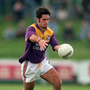 The late Scott Doran in action for the Wexford Senior footballers against Carlow in the Leinster championship of 1996