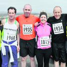 n At the Vinegar Hill Five Mile Challenge were Marie McVeigh, Tommy McElwaine, Graham Doyle, Susan Dempsey, Fran Miller and Tommy Foley.