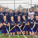 The Enniscorthy ladies' seconds hockey team which secured promotion last weekend