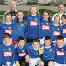 Caim National school boy and girls teams.