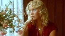 Agnetha Fältskog in the video for 'The Winner Takes It All'
