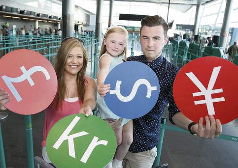 The 'Click & Collect' service launched at Dublin Airport.