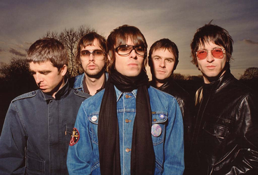 Oasis: five songs in the 'Best Of British' top ten from Radio X.