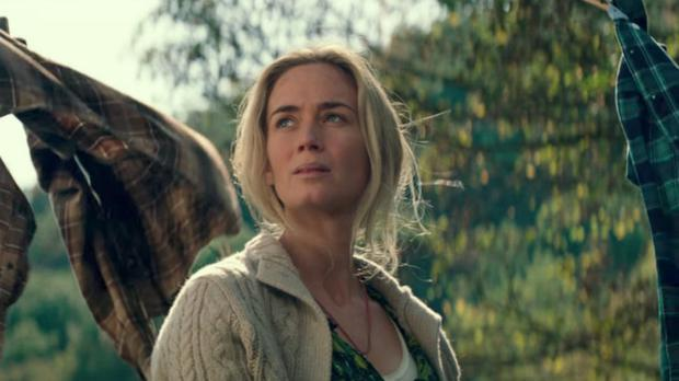 Emily Blunt as Evelyn Abbott in A Quiet Place.