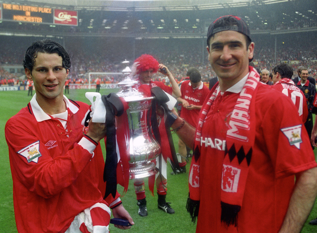 Manchester United won the Premier League and the FA Cup in 1994