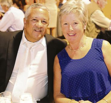 Edwin and Mary Aviles at the St Colmcille's GFC dinner dance.