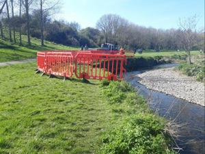 Fingal County Council secured the site for excavation