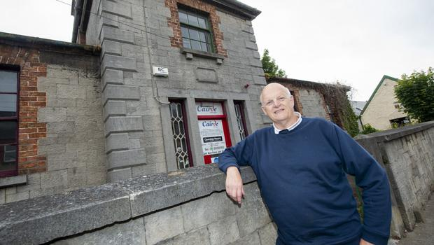 Robert Cashel is heading the campaign to save the old St George's school building in Balbriggan.