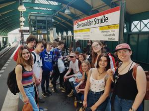 Some of the Fingal Youth Choir in Germany