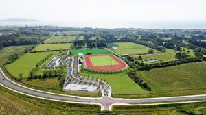 How the Ballymastone Recreationah Hub will sit in the landscape.