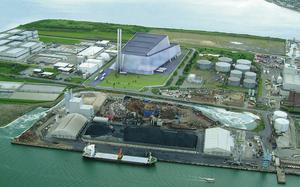 The proposed waste-to-energy plant in Poolbeg