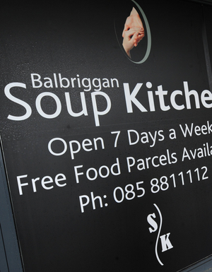 Balbriggan Soup Kitchen at Linen Hall