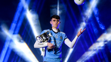 On hand to launch the 2020 EirGrid GAA Football U20 All-Ireland Championship at Croke Park in Dublin is Brian O'Leary of Dublin