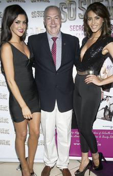 Suzanne Jackson, Damien Jackson and Carla Jackson at the launch of Suzanne's book 'So Sue Me, Secrets to Bloggins, Fashion and Beauty'.