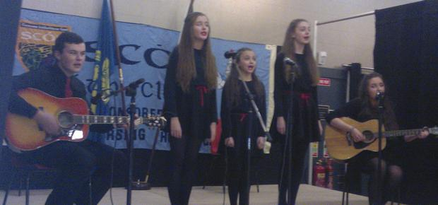 Fingallian's ballad group are through to the Leinster final of the Scór na nOg competition.