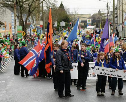 A crowd of 20,000 is expected to attend the parade in Swords, which will be the pinnacle of a weekend of events to celebrate St. Patrick's Day.