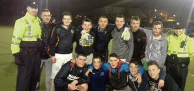 The Balbriggan Late Night League winners.