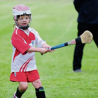 A young hurler
