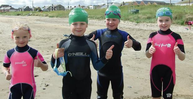 The Fingal Tri summer camp gets a big thumbs up from the participants