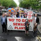 Opposition to the regional waste treatment plant continues