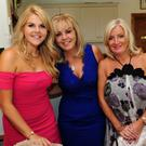 Mary Kate Kavanagh, Yvonne Kavanagh and Ceppi Collins at the Irish Kidney Association fashion show in Malahide Golf Club