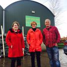 MEP Mairead McGuinness meets with William and Saskia Ruiter