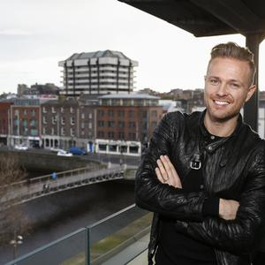 Malahide's Nicky Byrne who will represent Ireland in this year's Eurovision song contest