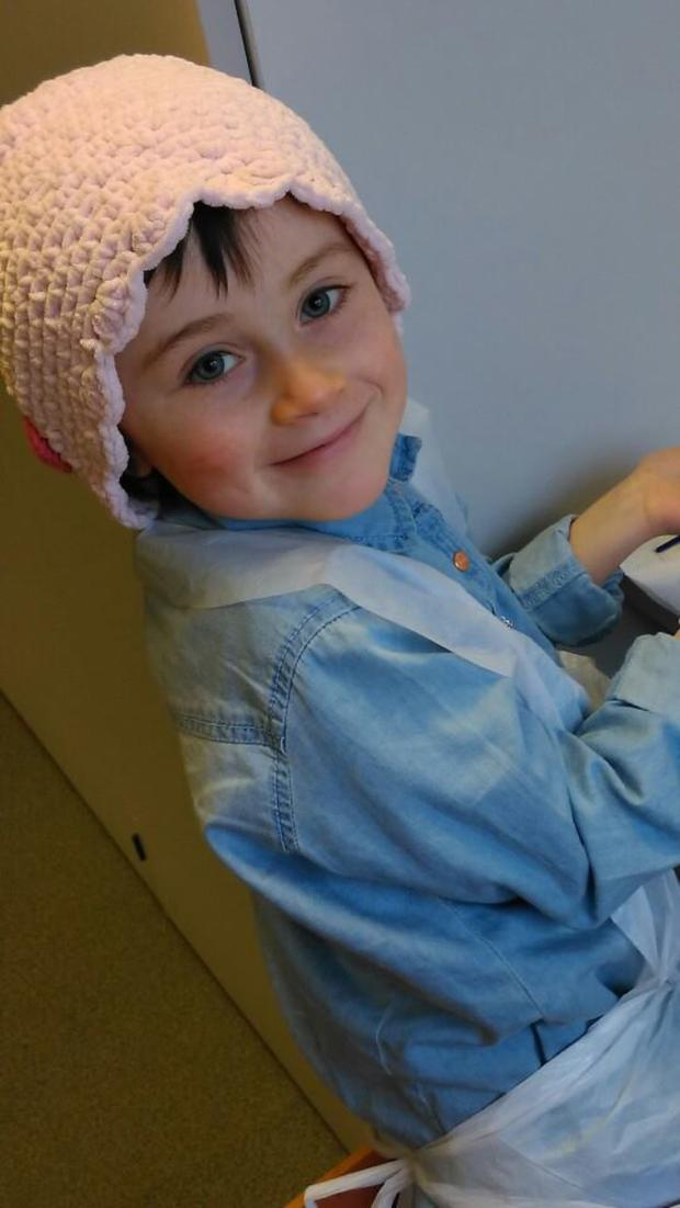 Brave Molly McNally is in remission
