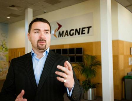 Mark Kellett, CEO Magnet