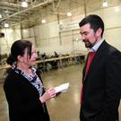 Green Party's Joe O'Brien talks to Fingal Independent reporter Nicola Donnelly