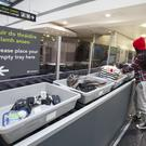 One of 15 new Automatic Tray Return Machines, Security Screening, Terminal 1