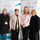 Nora Roba, Audrey Cashel, Sarah Moore and Jean Fitzpatrick at the new Remember Us HQ