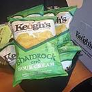 Keogh's 'Shamrock and Sour Cream' flavoured potato crisps