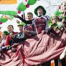 A huge crowd of 25,000 turned out to the Swords parade