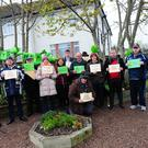 A 'Green Ribbon Demonstration' took place in Balbriggan last Thursday