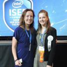 Lauren Murphy was accompanied by her Science teacher, Dr. Niamh McNally