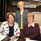 At the Stamullen Bowls Club dinner were Marina Marmion, Ann McConville and Rose McGrath