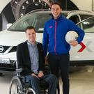 Stephen Cluskey, Go Accessible 365 and Shane Carthy, footballer, two of the twenty finalists put forward to the public vote phase of the Nissan Generation Next ambassador programme 2016