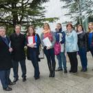 Cllr Tony Murphy, Joseph McArdle, Tracy McCormack, Sheena O'Reilly, Cllr Malachy Quinn, Cllr Grainne Maguire, Ruth McArdle and Eithne Vettraino.