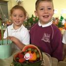 Some of the green-fingered pupils at Rolestown National School