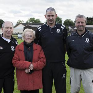 Vinnie Convery, Joan O'Brien, Peter Kettle and Alan Manning