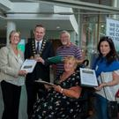 A petition signed by 2153 residents and business owners was handed in this afternoon to the Mayor of Fingal Cllr. Darragh Butler, in opposition to the proposed development projects in Malahide Castle